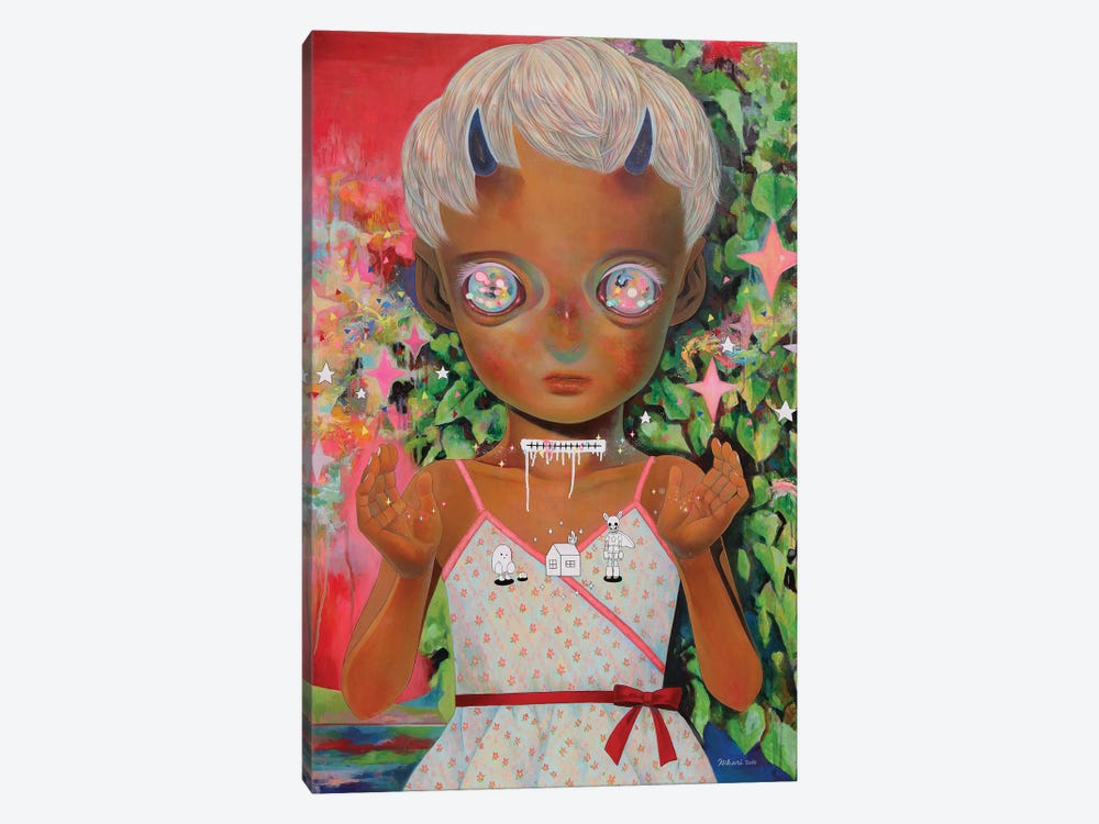 Whereabouts Of God Series: Nobody #3 by Hikari Shimoda 1-piece Canvas Wall Art