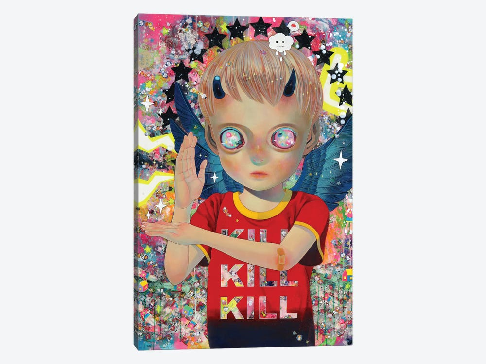 I Do Not Know My Enemy - Boy by Hikari Shimoda 1-piece Canvas Print
