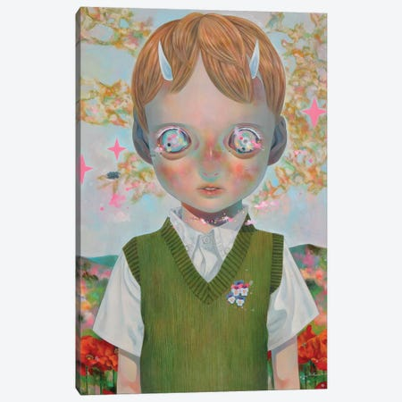 Whereabouts Of God Series: Nobody #1 Canvas Print #HSH17} by Hikari Shimoda Canvas Art Print