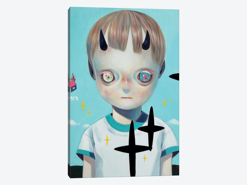 Children of this Planet Series: #22 by Hikari Shimoda 1-piece Canvas Print