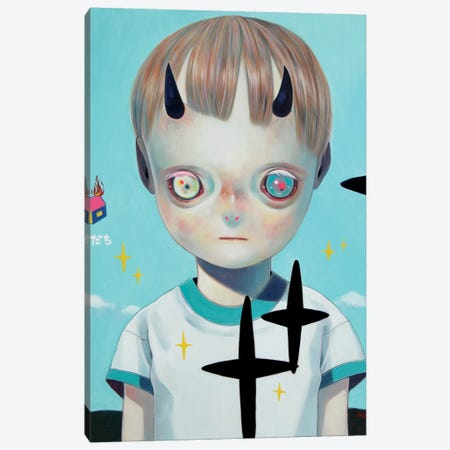 Children of this Planet Series: #22 Canvas Print #HSH2} by Hikari Shimoda Canvas Art Print