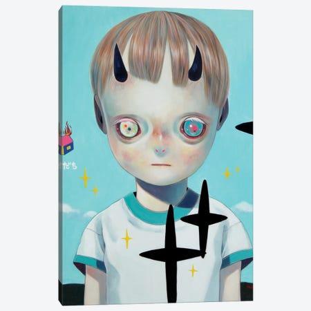 Children of this Planet Series: #22 3-Piece Canvas #HSH2} by Hikari Shimoda Canvas Art Print