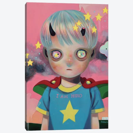 Children of this Planet Series: #29 Canvas Print #HSH3} by Hikari Shimoda Art Print