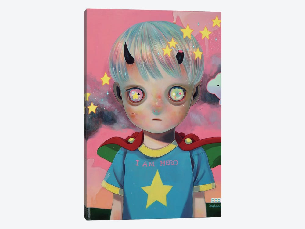 Children of this Planet Series: #29 by Hikari Shimoda 1-piece Canvas Wall Art