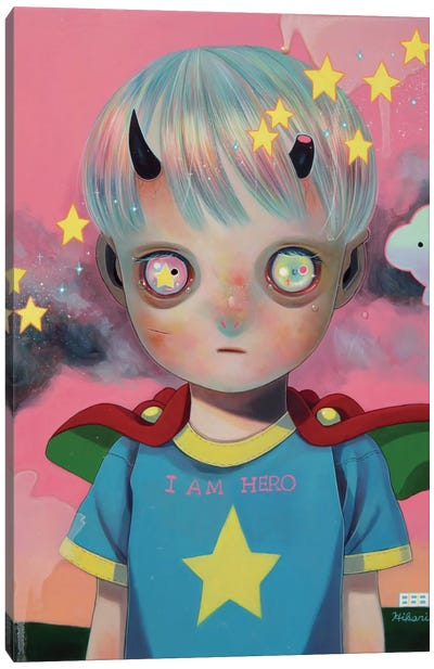 Children of this Planet Series: #29 Canvas Art Print