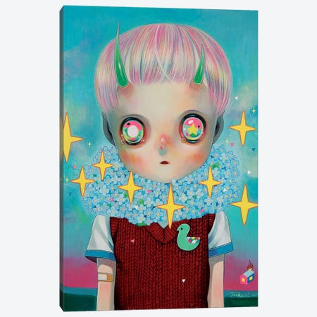 Children of this Planet Series: #26 Canvas Print #HSH4} by Hikari Shimoda Canvas Art