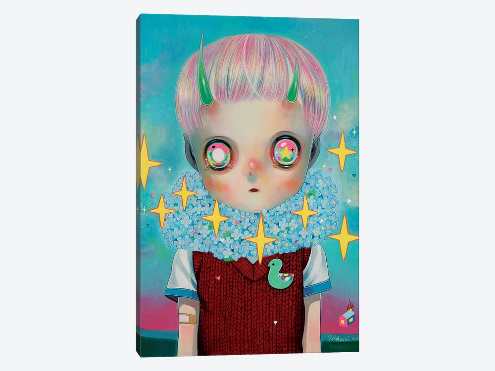 Children of this Planet Series: #26 by Hikari Shimoda 1-piece Canvas Art Print