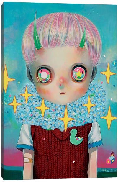 Children of this Planet Series: #26 Canvas Art Print
