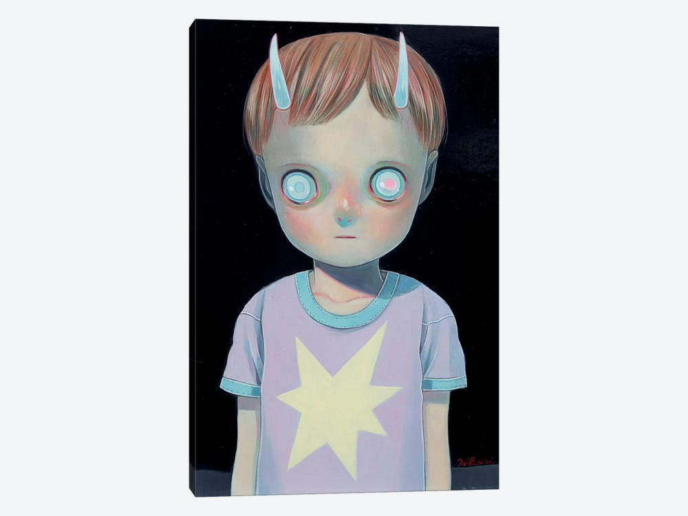 Darkness by Hikari Shimoda 1-piece Canvas Art