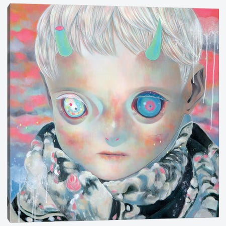 Dream Child Canvas Print #HSH6} by Hikari Shimoda Canvas Art