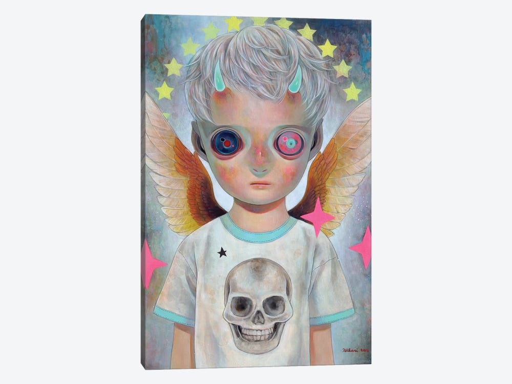Death And Angel #1 by Hikari Shimoda 1-piece Canvas Wall Art