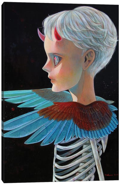 Death And Angel #4 Canvas Art Print