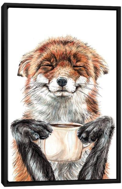 Morning Fox Canvas Art Print