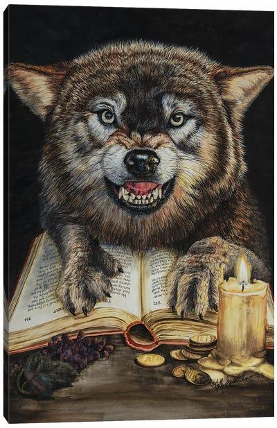 Fiction In The Flesh Canvas Art Print