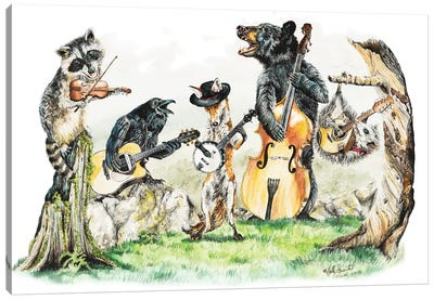 Bluegrass Gang Canvas Art Print
