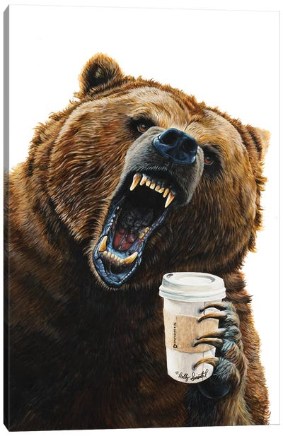 Grizzly Mornings Canvas Art Print