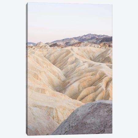 Zabriskie Point In Death Valley National Park Canvas Print #HSK105} by Henrike Schenk Canvas Art Print