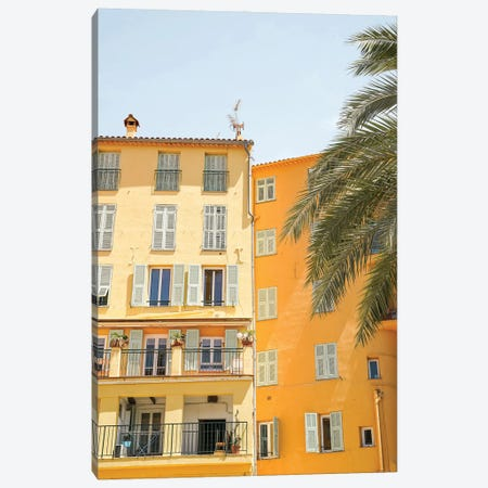 City Architecture In Nice, France Canvas Print #HSK117} by Henrike Schenk Canvas Art