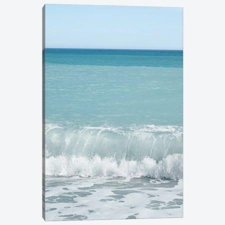 The Blue Wave Canvas Print #HSK125} by Henrike Schenk Canvas Art Print