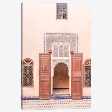 Bahia Palace Door Canvas Print #HSK41} by Henrike Schenk Canvas Wall Art