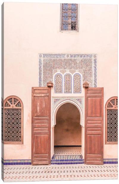Bahia Palace Door Canvas Art Print