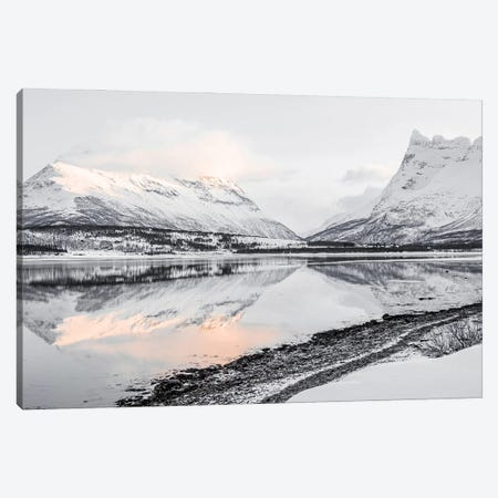 Mountain Lake In Norway Canvas Print #HSK42} by Henrike Schenk Canvas Wall Art