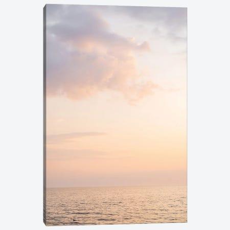 Pastel Color Sunset Canvas Print #HSK60} by Henrike Schenk Canvas Wall Art