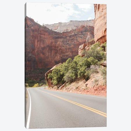 Roads Of Zion National Park Canvas Print #HSK71} by Henrike Schenk Canvas Print
