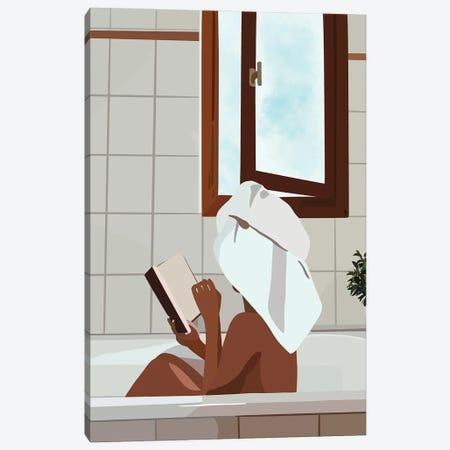 Bath Canvas Print #HSM110} by Artpce Canvas Print