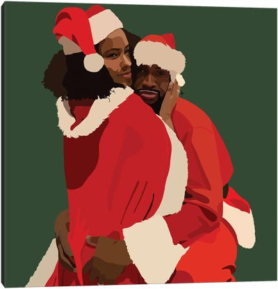 Christmas Bae Canvas Art Print