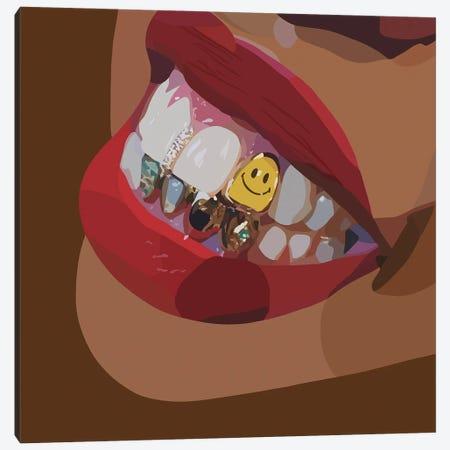 Smile Canvas Print #HSM12} by Artpce Canvas Print