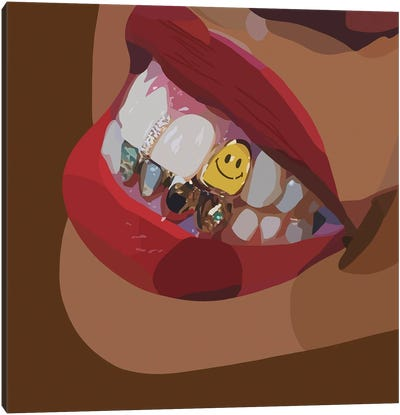 Smile Canvas Art Print