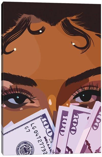 New Money Canvas Art Print