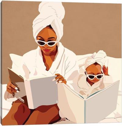 Mommy & Me Canvas Art Print