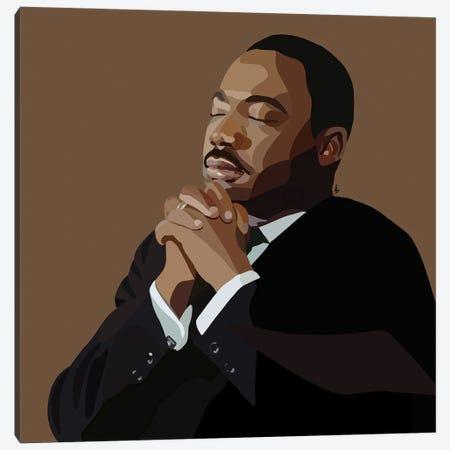 MLK Canvas Print #HSM28} by Artpce Canvas Art