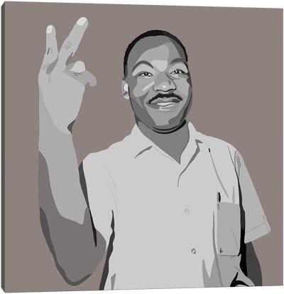 MLK Peace Canvas Art Print