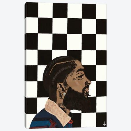Hu$$le Canvas Print #HSM39} by Artpce Art Print