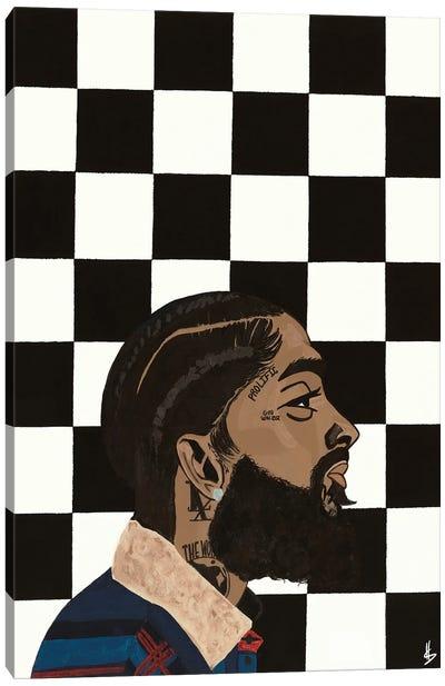 Hu$$le Canvas Art Print