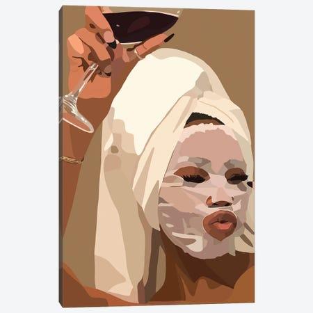 Face Mask Canvas Print #HSM47} by Artpce Art Print