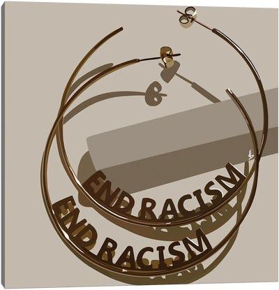 End Racism Canvas Art Print