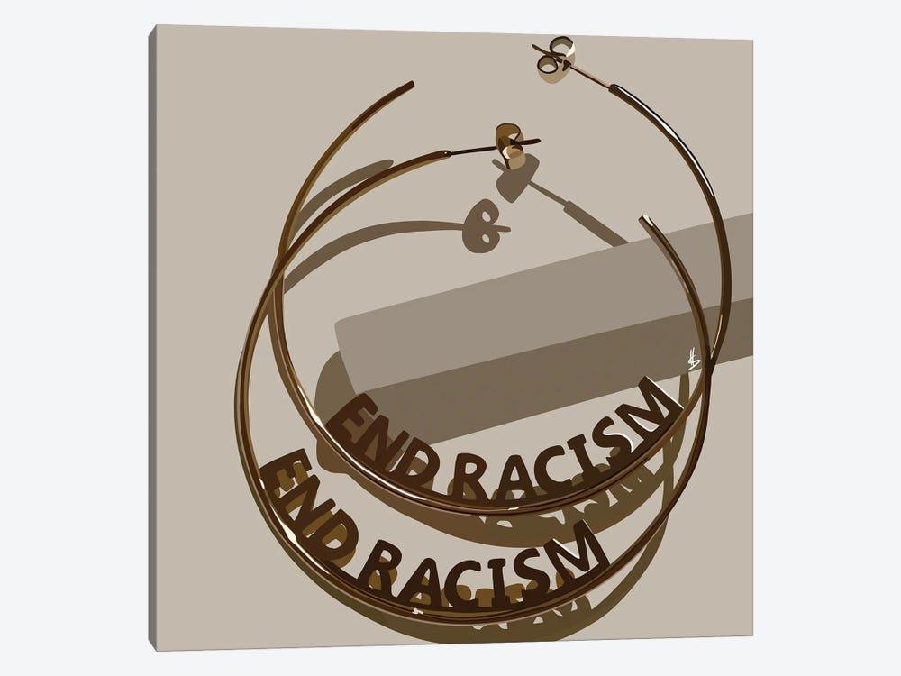 End Racism by Artpce 1-piece Canvas Art Print