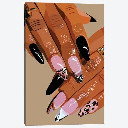 Claws Canvas Print #HSM54} by Artpce Canvas Wall Art