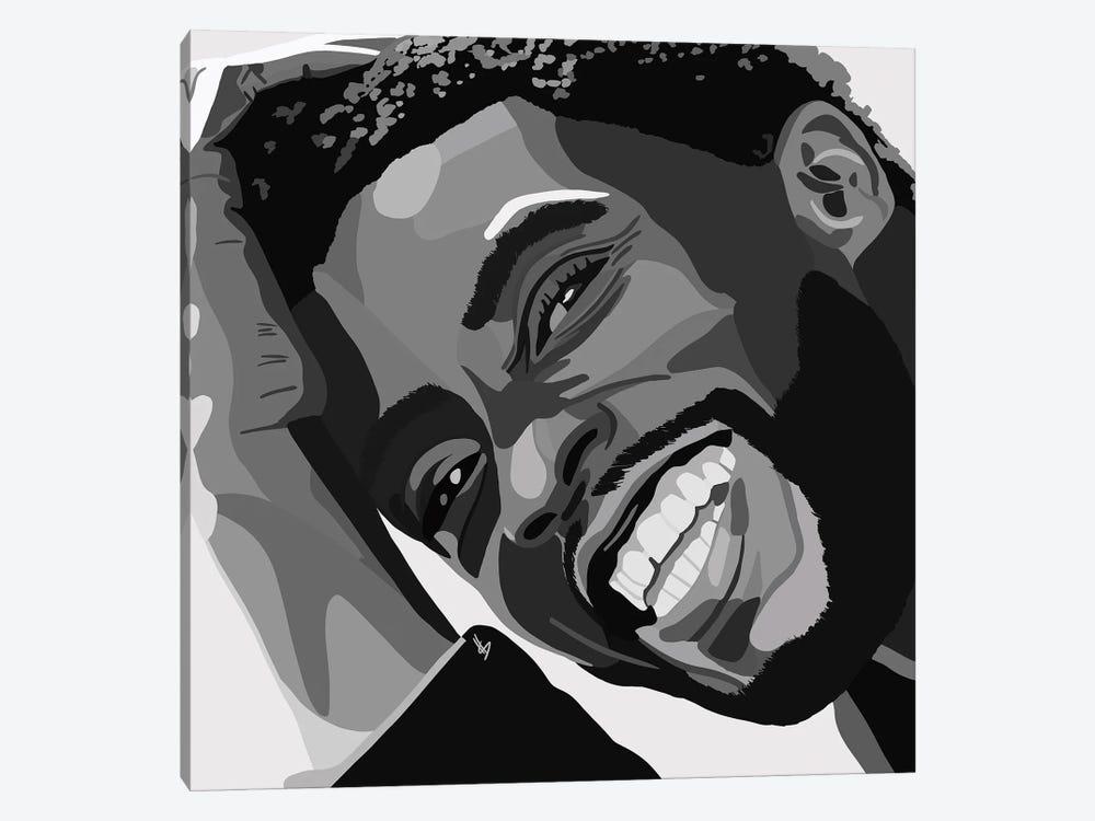Chadwick Boseman by Artpce 1-piece Canvas Art Print