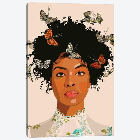 Butterflies Canvas Print #HSM58} by Artpce Art Print