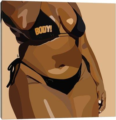 Body-Ody-Ody Canvas Art Print