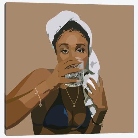 Spa Day Canvas Print #HSM6} by Artpce Canvas Art Print