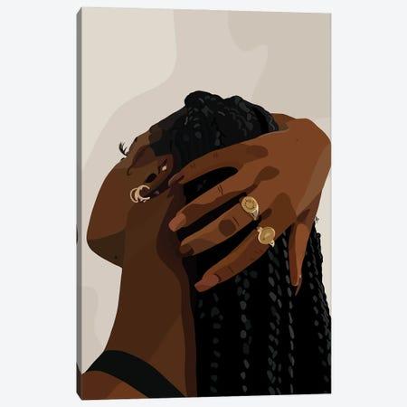 Let Your Hair Down Canvas Print #HSM73} by Artpce Canvas Art Print