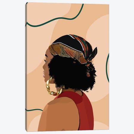 Headwrap Canvas Print #HSM77} by Artpce Canvas Artwork