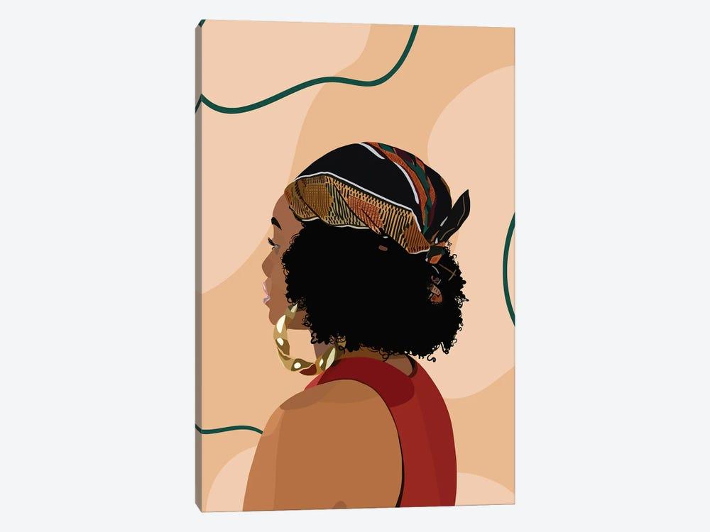 Headwrap by Artpce 1-piece Canvas Print