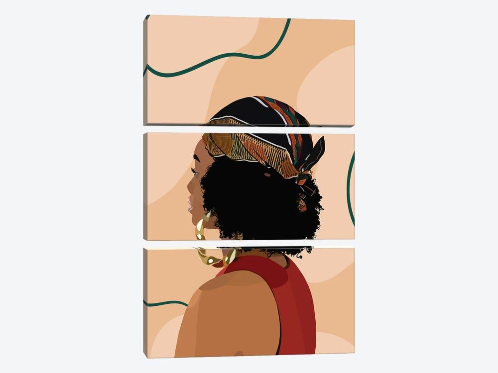 Headwrap by Artpce 3-piece Canvas Print